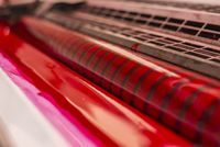 red ink printing