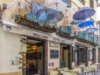 Umbrella  Coffee Bar, Funchal, Madeira Portugal