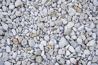 white pebbles background