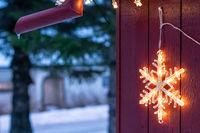 Decorative Christmas star