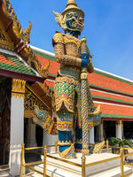 Wat Phra Kaeo, the Temple of the Emerald Buddha