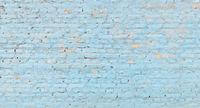 Panoramic blue brick wall