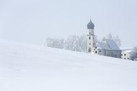 St. Christoph im Winternebel
