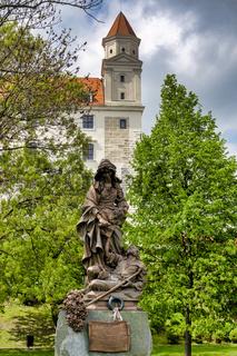 Monument to Alzbeta Durinska