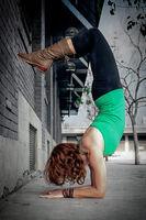 Urban Yoga - A Female Yogi in Los Angeles