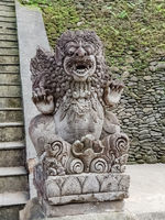 Statue in Hindu temple Pura Tirta Empul
