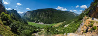 Summer Tara Canyon in mountain Durmitor National Park, Montenegro.