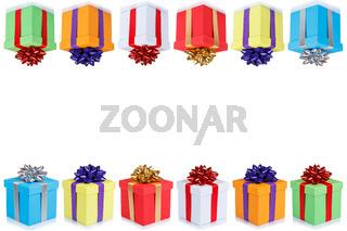 Geschenke Geburtstag Karte Geburtstagskarte Weihnachten Textfreiraum Copyspace Geburtstagsgeschenke schenken
