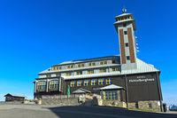 Fichtelberghaus, Fichtelberg, Oberwiesenthal, Erzgebirge, Sachsen, Deutschland