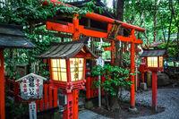 Nonomiya Shrine temple, Kyoto, Japan