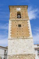 Tower church Chinchon, Madrid province, Spain