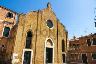 A historic church in Venice, Italy