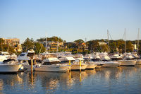 Nelson Bay marina, Port Stephens, NSW, Australia