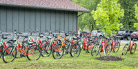 Bike rental at Katy Trail