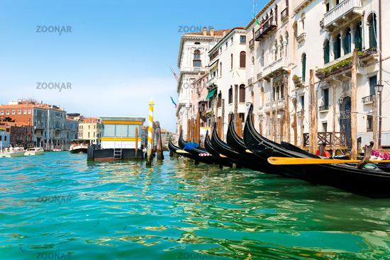 Vaporetto stop in Venice