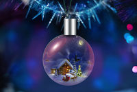 Christmas tree decoration for Christmas and New year
