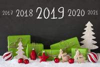 Christmas Decoration, Cement, Snow, Timeline 2019, Green Gifts