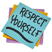 respect yourself - reminder note