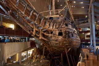 Vasa Museum and Vasa Swedish Warship Built Between 1626 and 1628