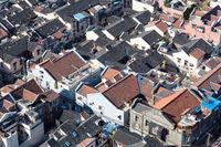 shanghai old town closeup