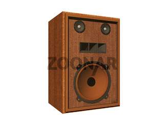 Stand speakers with membranes