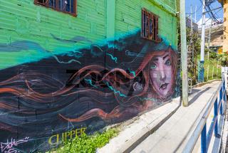 Thirteen quarter of Medellin famous for its murals