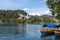 Bleder See und Kirche von Bled