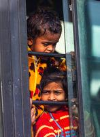 Indian poor dirty kids