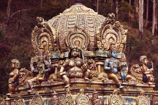Statue on Sri Lanka
