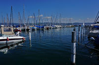 Yachthafen in Wallhausen am Bodensee