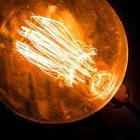Incandescent filaments light bulb
