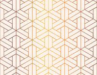 Abstract geometric figures, luxury seamless pattern