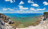 Aegean sea coast, Chalkidiki, Greece