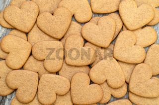 Gingerbread cookies background
