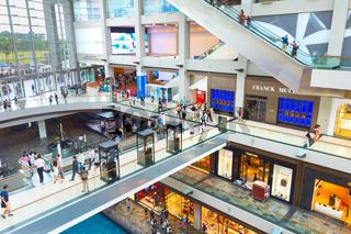 Shopping mall Marina Bay Singapore