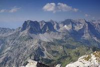 Gebirgszug in den österreichischen Alpen