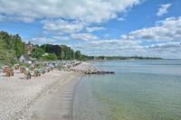 Strand von Haffkrug,Ortsteil von Scharbeutz,Ostsee,Schleswig-Holstein,Deutschland