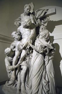 Statue von Michael Lock, 1888, 'Kreuzabnahme',  Hohenzollern Gru