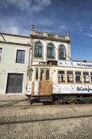 EUROPE PORTUGAL PORTO FUNICULAR TRAIN