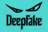 Deepfake Evil Eyes Concept Vector