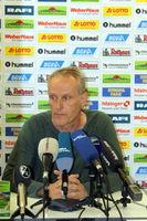 Pressekonferenz PK vor SCF vs VfB Stuttgart