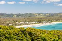 Aerial View of Byron Bay