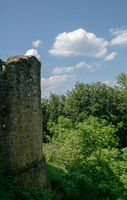 Old ruin of the castle Weidelsburg