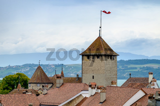 View of the city Murten