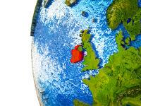 Ireland on 3D Earth