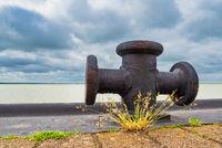 Hafen am Bodden auf dem Fischland-Darß in Born