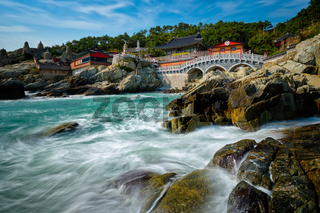 Haedong Yonggungsa Temple. Busan, South Korea
