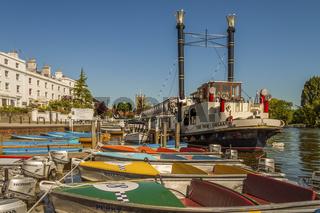 Paddle Steamer New Orleans Henley On Thames UK