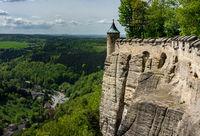 Festung Koenigsstein in Sachsen