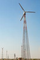 Windmills in Jaisalmer